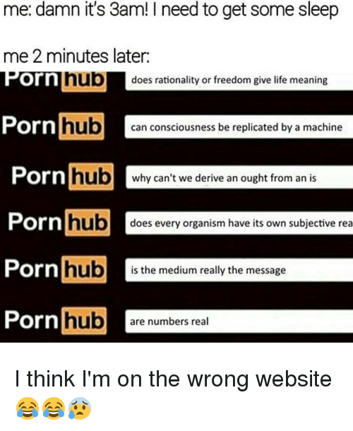 rationalization: me: damn it's 3am! I need to get some sleep  me 2 minutes later.  nub  does rationality or freedom give life meaning  Corn  Porn  hub  can consciousness be replicated by a machine  Porn  hub  why can't we derive an ought from an is  Porn  hub  does every organism have its own subjective rea  Porn  hub  is the medium really the message  Porn hub  are numbers real I think I'm on the wrong website 😂😂😰