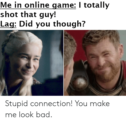 Image result for online game lag meme