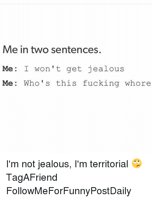 how to not be jealous