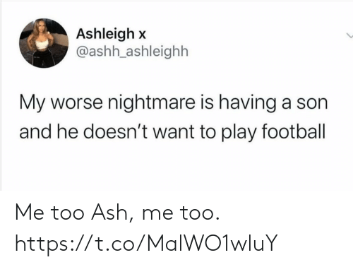 me too: Me too Ash, me too. https://t.co/MalWO1wluY