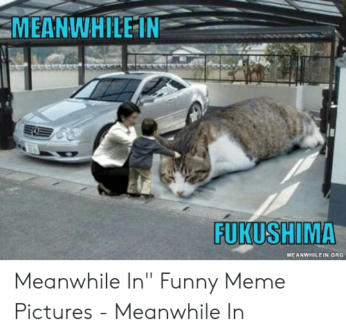 """Funny, Meme, and Pictures: MEANWHILE IN  FUKUSHIMA  MEANWHILEIN.ORG Meanwhile In"""" Funny Meme Pictures - Meanwhile In"""