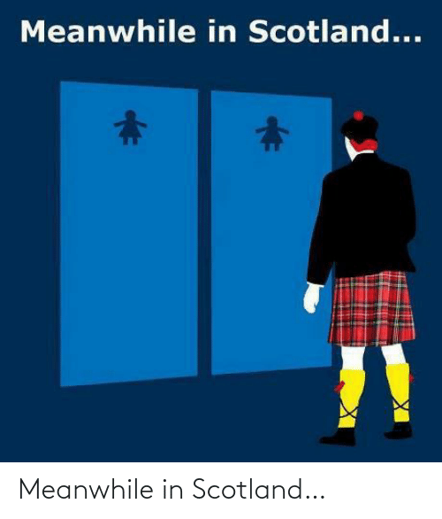 meanwhile: Meanwhile in Scotland…