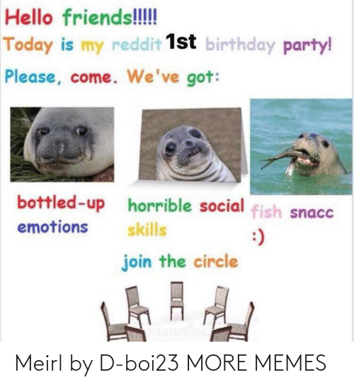 Blank: Meirl by D-boi23 MORE MEMES