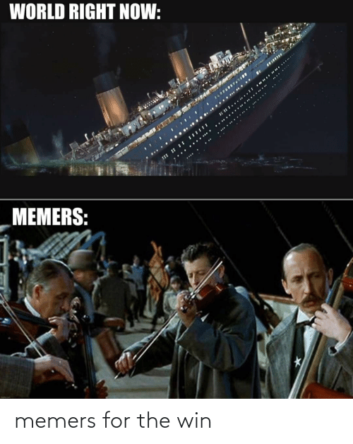 for the win: memers for the win