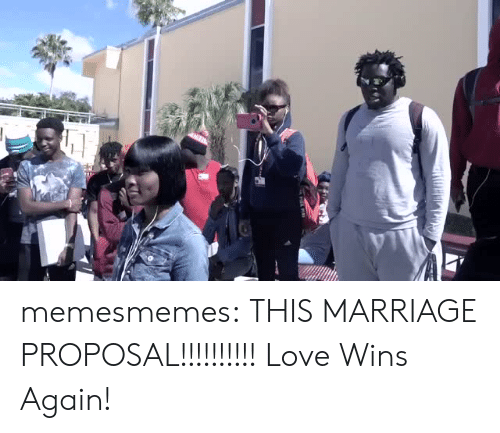marriage proposal: memesmemes:  THIS MARRIAGE PROPOSAL!!!!!!!!!! Love Wins Again!
