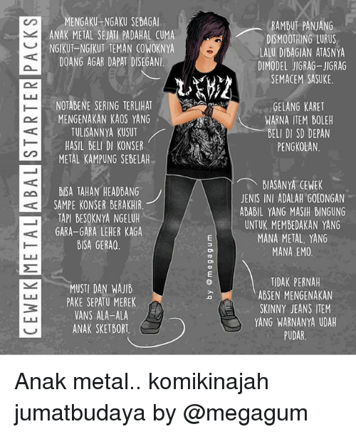 Anak metalhead dating
