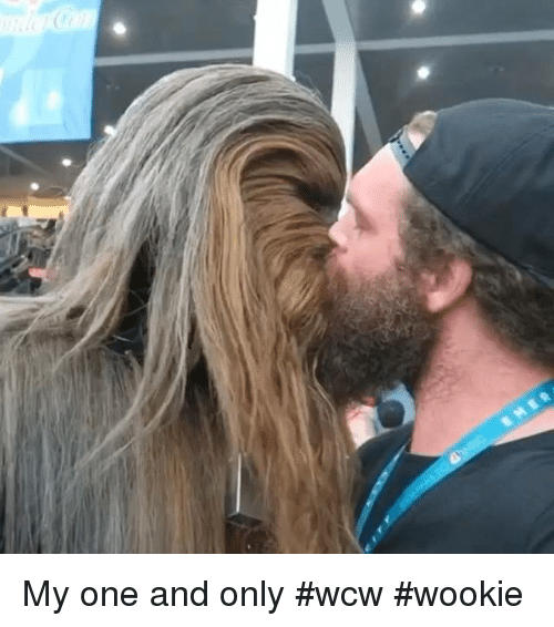 Memes, Wcw, and 🤖: MER My one and only #wcw #wookie