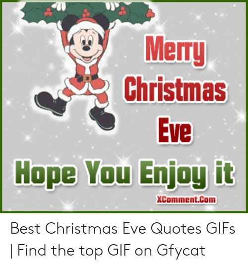 Best Memes About Christmas Eve Quotes