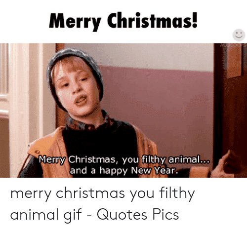 Merry Christmas You Filthy Animals.25 Best Memes About Merry Christmas You Filthy Animal