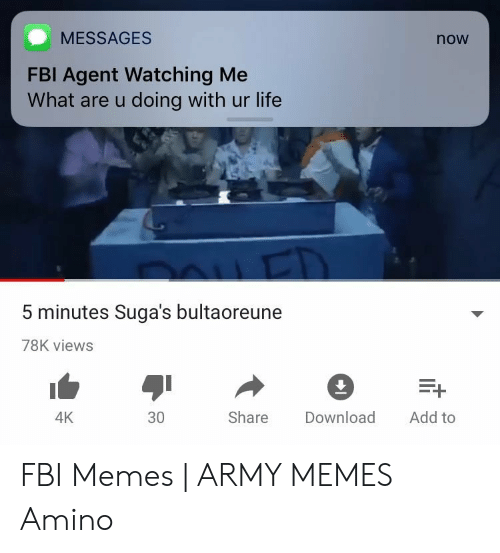 MESSAGES Now FBI Agent Watching Me What Are U Doing With Ur