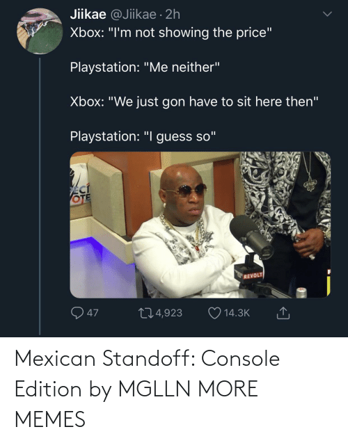 edition: Mexican Standoff: Console Edition by MGLLN MORE MEMES