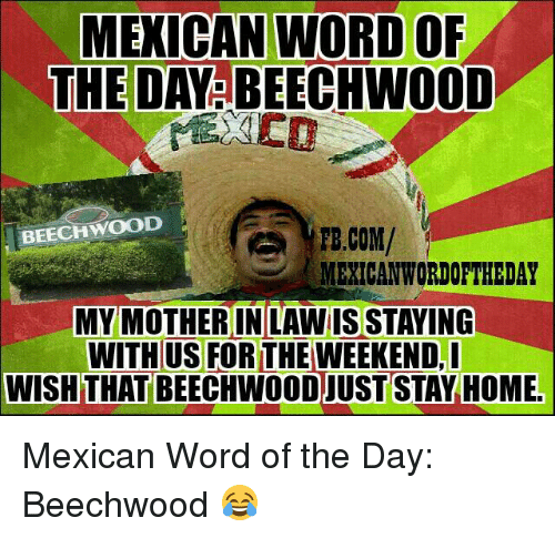Mexican Wordoftheday