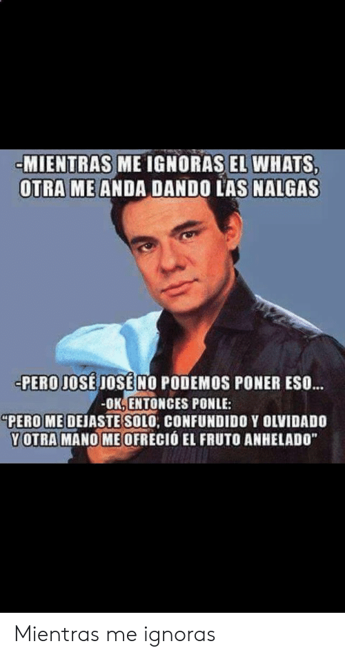25 Best Memes About Ignoras Ignoras Memes