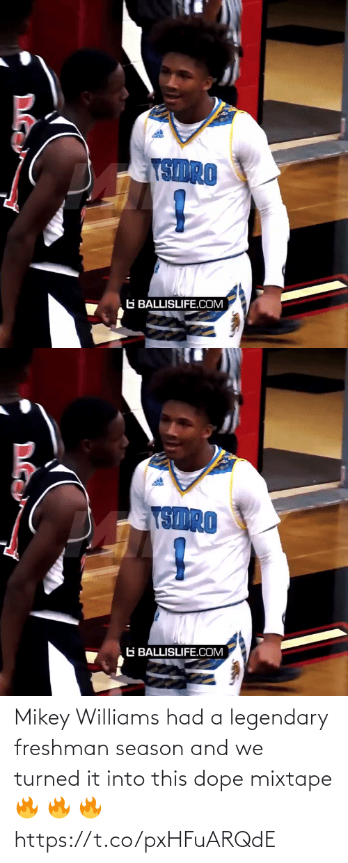 dope: Mikey Williams had a legendary freshman season and we turned it into this dope mixtape 🔥 🔥 🔥 https://t.co/pxHFuARQdE