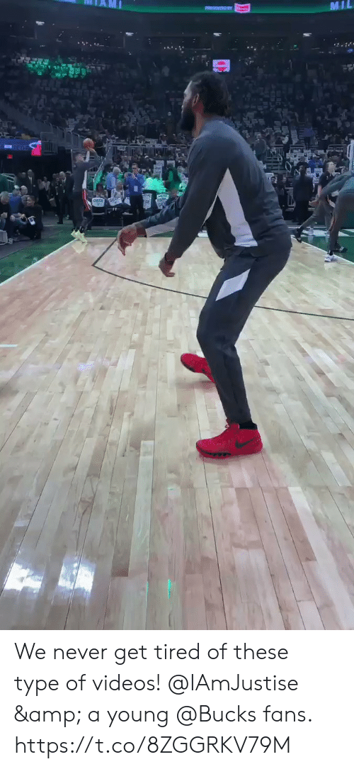 bucks: MIL  . We never get tired of these type of videos!   @IAmJustise & a young @Bucks fans.  https://t.co/8ZGGRKV79M