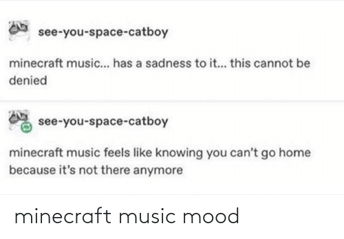 minecraft: minecraft music mood