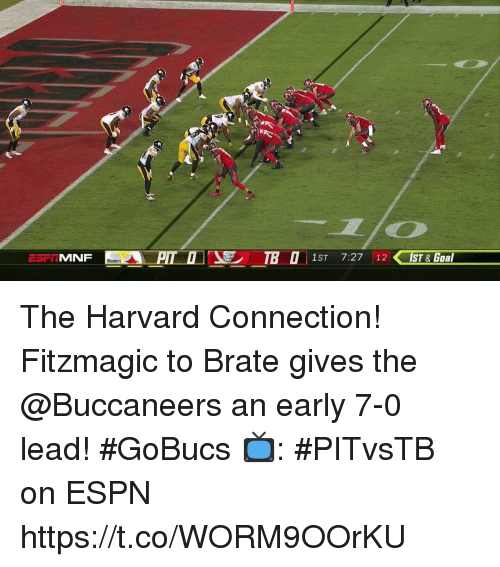 MNF 1ST 727 12 1ST Goal The Harvard Connection Fitzmagic To Brate