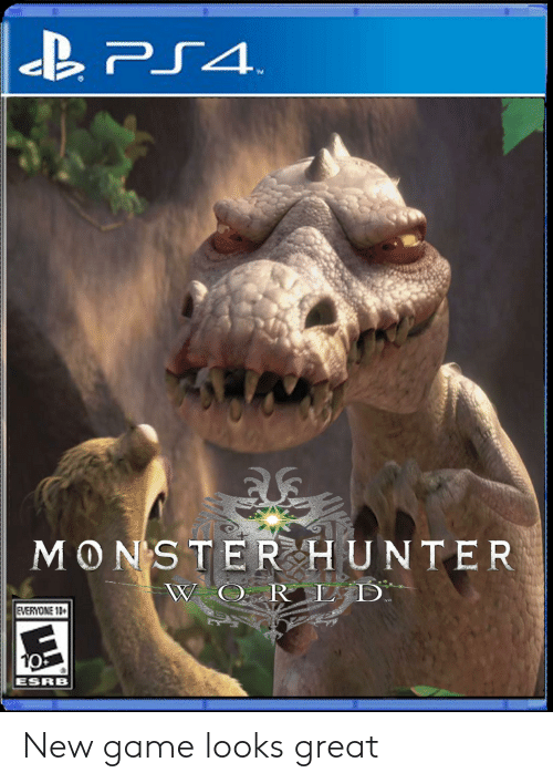 Monster Hunter W O Rl D Everyone 13 Esrb New Game Looks Great