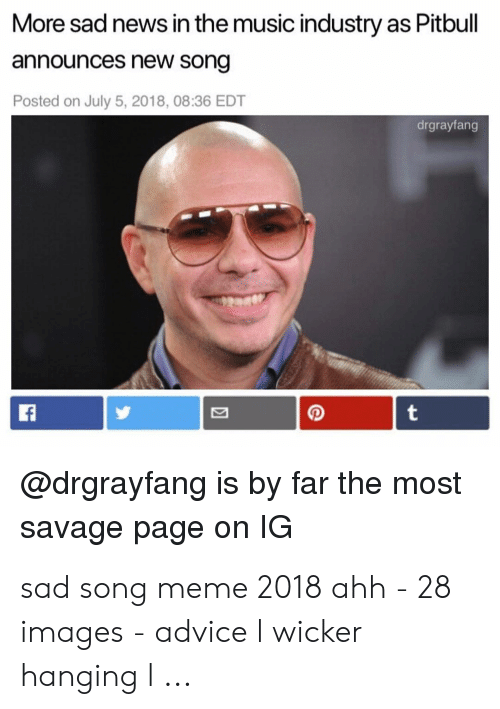More Sad News in the Music Industry as Pitbull Announces New