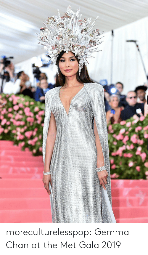 Tumblr, Blog, and Met Gala: moreculturelesspop:  Gemma Chan at the Met Gala 2019