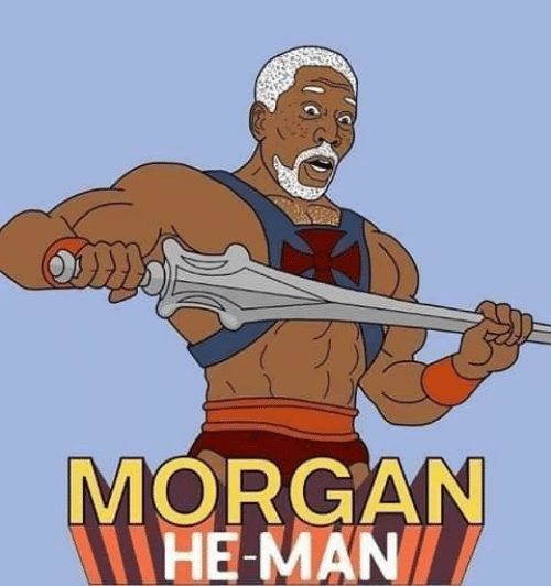 He-Man: MORGAN  HE-MAN