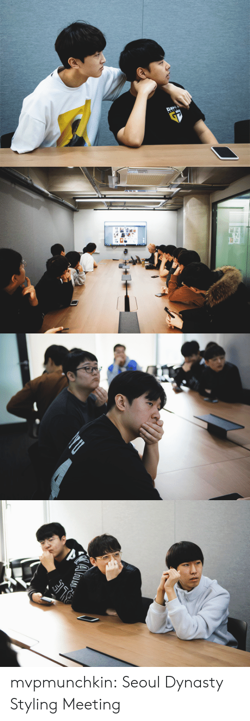 Tumblr, Twitter, and Blog: mvpmunchkin:  Seoul Dynasty Styling Meeting