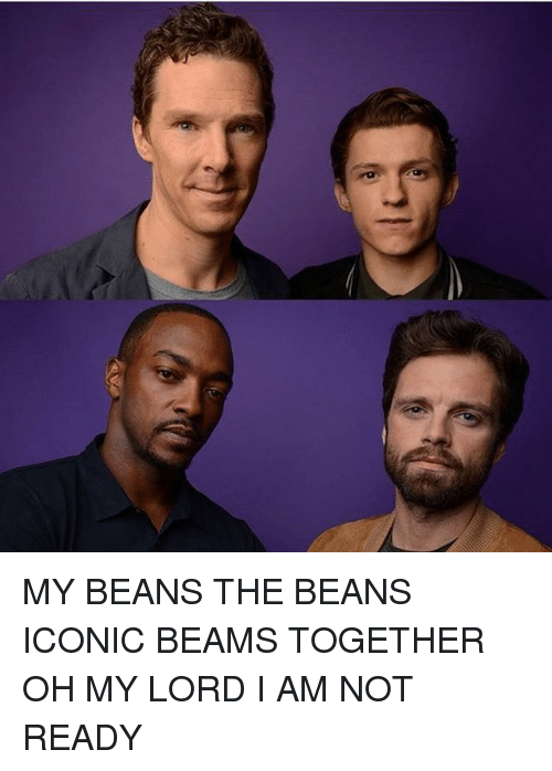 My Beans: MY BEANS THE BEANS ICONIC BEAMS TOGETHER OH MY LORD I AM NOT READY