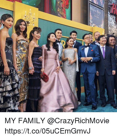 Family, Memes, and 🤖: MY FAMILY @CrazyRichMovie https://t.co/05uCEmGmvJ