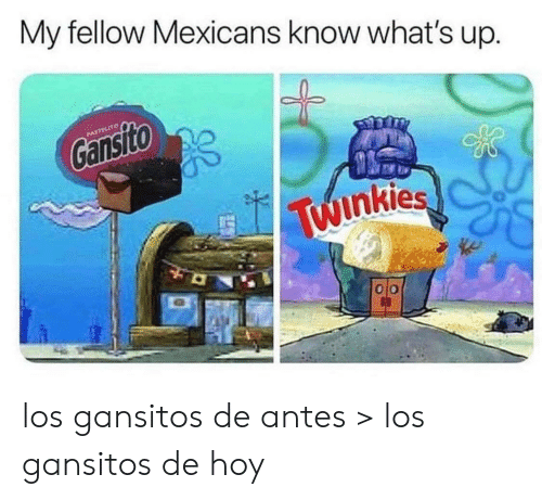 Whats, Whats Up, and Mexicans: My fellow Mexicans know what's up.  PASTELITO  Gansito  Twinkies  O0 los gansitos de antes > los gansitos de hoy