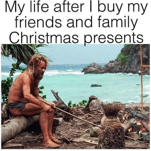Friends And Family: My life after I buy my  friends and family  Christmas presents  @90skidz90s