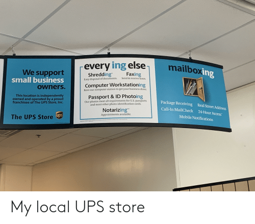 25 Best Memes About Ups Store Ups Store Memes
