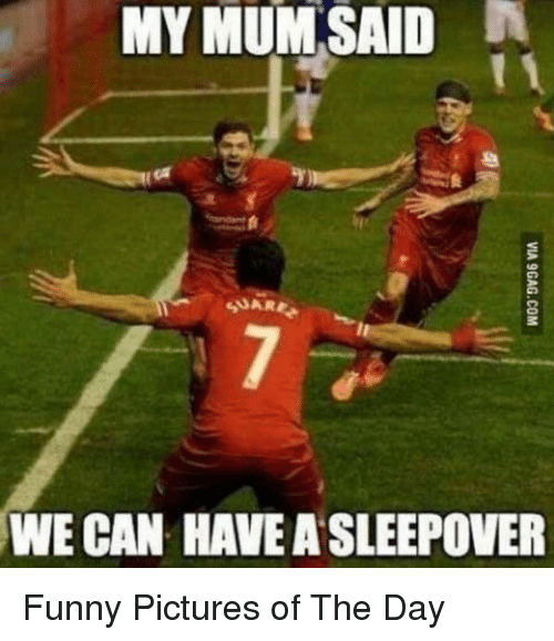 Funny, Pictures, and Sleepover: MY  MUM  SAID  SUARE  WE CAN HAVE A SLEEPOVER Funny Pictures of The Day