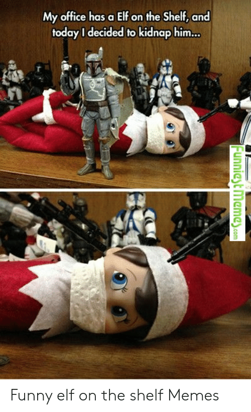Inappropriate Funny Elf On The Shelf Meme