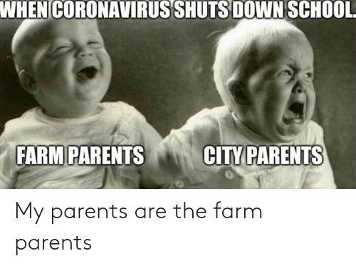 Farm: My parents are the farm parents