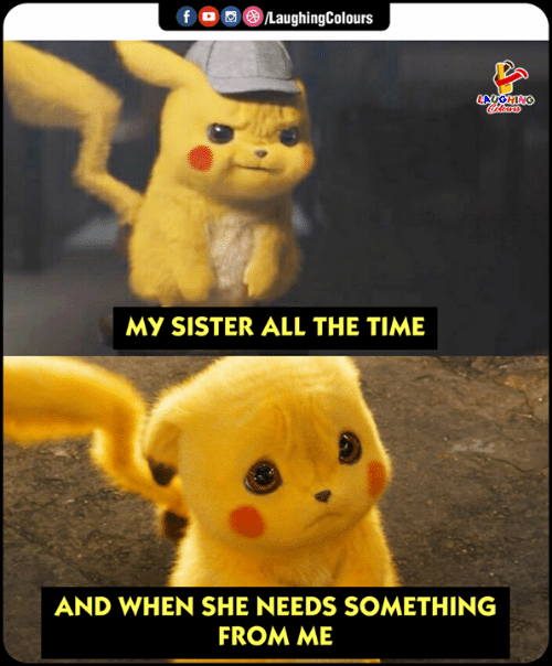 Time, Indianpeoplefacebook, and All The: MY SISTER ALL THE TIME  AND WHEN SHE NEEDS SOMETHING  FROM ME