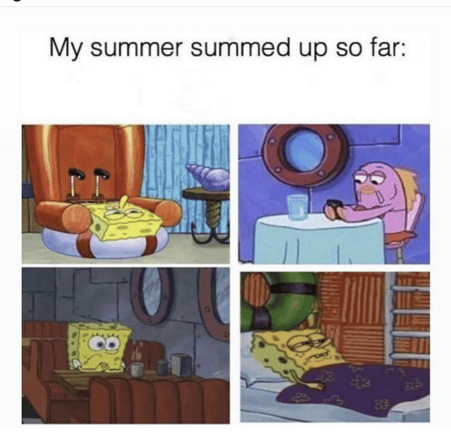 Summed Up: My summer summed up so far:  93