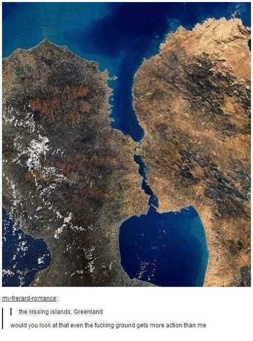 The Kissing Islands Greenland