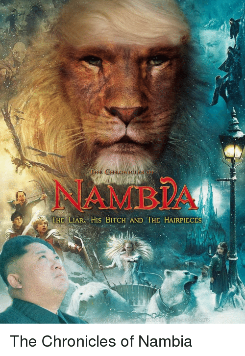 Bitch, Funny, and Chronicles: NAMBIA  . THE LIAR/HIS:BITCH AND THE HAIRPIECES