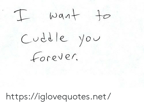 Forever, Net, and You: Nant to  Cudile you  forever https://iglovequotes.net/