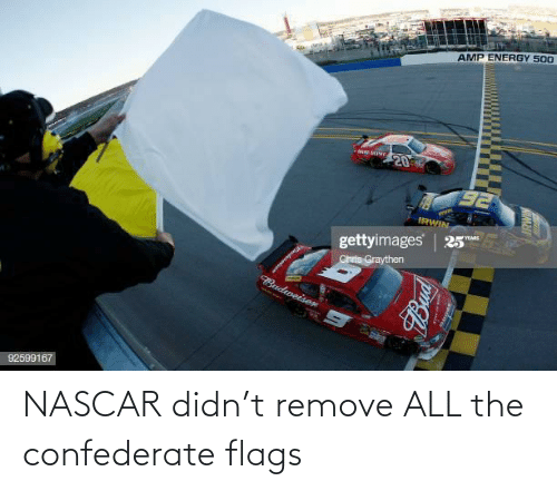 all: NASCAR didn't remove ALL the confederate flags
