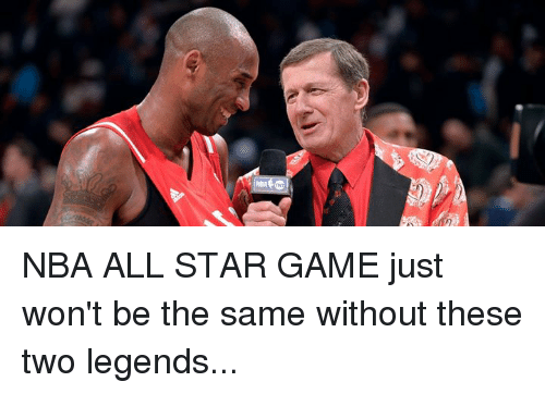 nba all star: NBA ALL STAR GAME just won't be the same without these two legends...