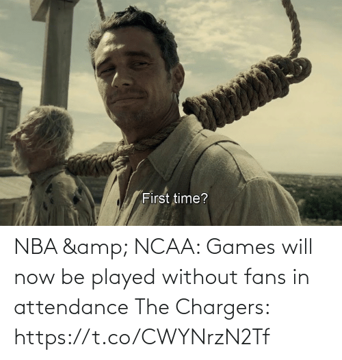Ncaa: NBA & NCAA: Games will now be played without fans in attendance   The Chargers: https://t.co/CWYNrzN2Tf