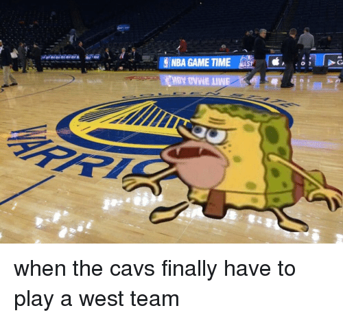 Nba Games: NBA GAME TIME when the cavs finally have to play a west team