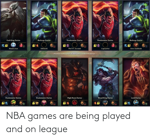 Nba Games: NBA games are being played and on league