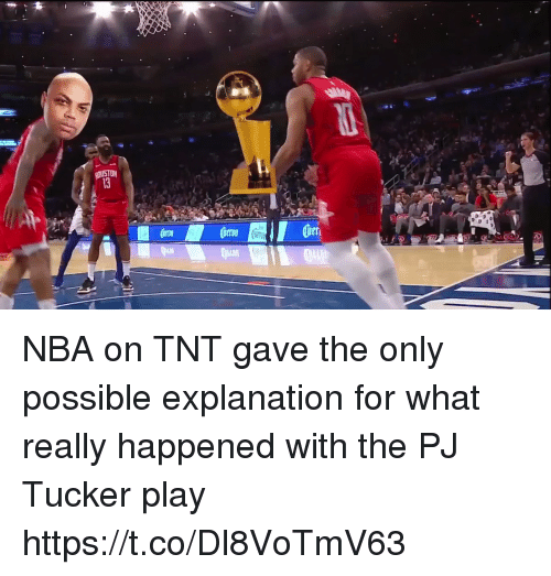nba on tnt: NBA on TNT gave the only possible explanation for what really happened with the PJ Tucker play https://t.co/Dl8VoTmV63