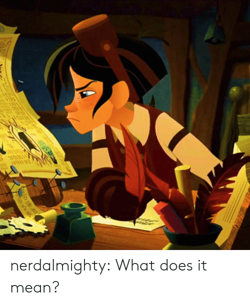 Target, Tumblr, and Blog: nerdalmighty:  What does it mean?