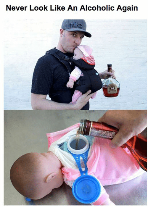 Memes, Alcoholic, and Never: Never Look Like An Alcoholic Again