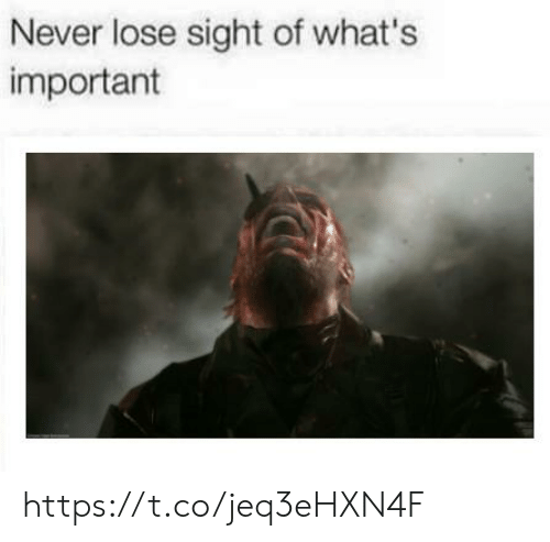 Never Lose: Never lose sight of what's  important https://t.co/jeq3eHXN4F