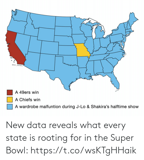 bowl: New data reveals what every state is rooting for in the Super Bowl: https://t.co/wsKTgHHaik