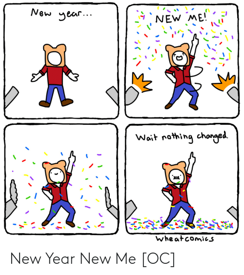 New Year New Me: New Year New Me [OC]